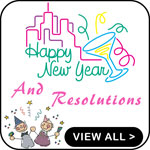 New Year Resolution T-Shirts Resolutions