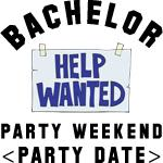 Bachelor Party (Enter Date) T-Shirts