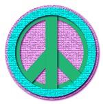 Lady concrete peace