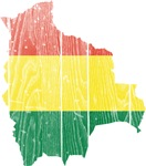 Bolivia Flag And Map