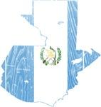 Guatemala Flag And Map