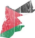 Jordan Flag And Map