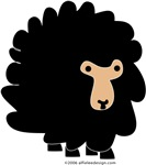 One Black Sheep!