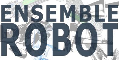 Ensemble Robot Logo