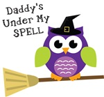Daddy's Under My Spell Witch Owl