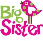 Polka Dot Bird Big Sister