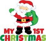 Santa Babies 1st Christmas