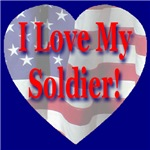 Patriotic Hearts -- I Love My Soldier/Sailor
