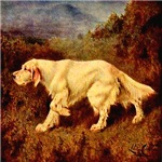English Setter Lilian Cheviot 1907 Digitally Remas