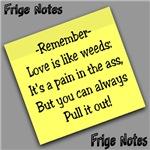 Frige Notes