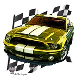 Ford Mustang Designs 1965 - 2010