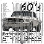 60'S Mustang Specs