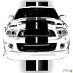 New Mustang Art