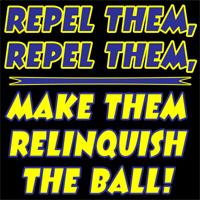 Repel them, Repel them
