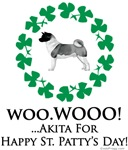 Akita St. Patty's Day