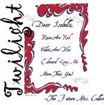 Twilight Dear Isabella