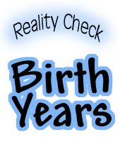Birth year t-shirts & gift ideas. 1947 1957 1967 1