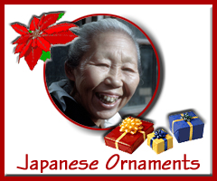 Christmas ornaments - Japanese scenes & portraits