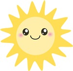 Cute Happy Sun