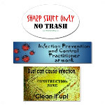 Infection Control Stickers