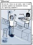 Dimwitz Facebook Status comic