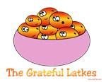 Funny Grateful Latkes Hanukkah