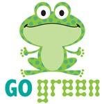 Go Green Froggy