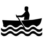 1517 Rowboat Sign