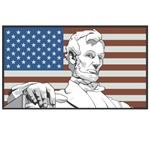 1716 Flag w/Lincoln