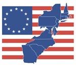 1700 Flag w/13 states