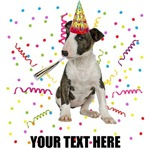 Personalized Bull Terrier Birthday T-Shirts