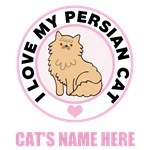 Personalized Persian Cat Lover T-Shirts