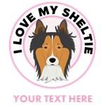 Personalized Shetland Sheepdog T-Shirts