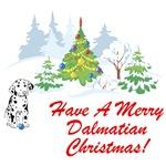 Christmas Dalmatian