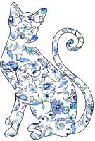 Blue Onion Cat