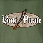 Butt Pirate (Old World Charm)