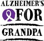 Alzheimers For Grandpa support design