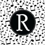 Music Monogram Letter R Gifts