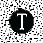 Music Monogram Letter T Gifts