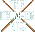 The Drummer Rules Shirts for Band