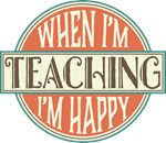 Vintage Teacher Logo Gifts and Awards
