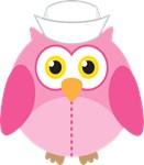 Funny Nurse Owl Shirts and Mugs