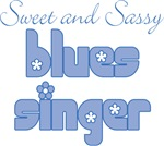 Cute Blues Singer Music T-shirts