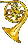 Play The French Horn T-shirts and Gifts