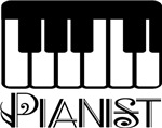 Pianist Music Accompanist T-shirts