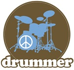 Peace Drummer Tee Shirt Apparel
