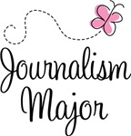 Cute Journalism Major College T-shirts and Gifts