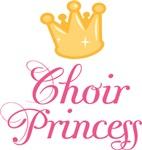 Cute Choir Princess Music T-shirts and Gift