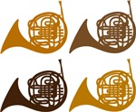Horn Quartet T-shirts and Gift Items