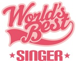 Worlds Best Singer T-shirts and Gifts
